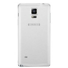 Samsung Galaxy Note 4 (N910F) задняя крышка (бел)