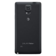 Samsung Galaxy Note 4 (N910F) задняя крышка (черн)