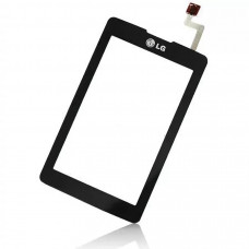 LG KP500 тачскрин (черн)