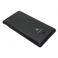 Sony Miro (ST 23) задняя крышка (черн)