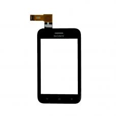 Sony ST21i тачскрин (черный)