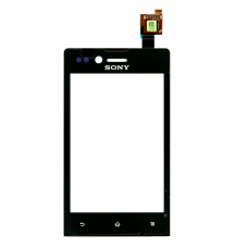 Sony ST23i тачскрин (черный)