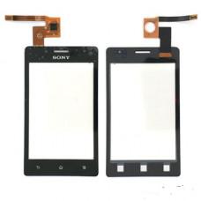 Sony ST27i тачскрин (черный)
