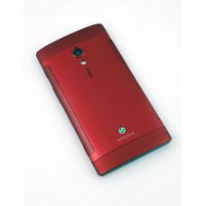 Sony Xperia Ion  (LT 28W) задняя крышка (красн)
