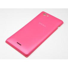 Sony Xperia J (ST 26i) задняя крышка (роз)