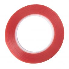 Двухсторонний скотч (красн) 0.5мм