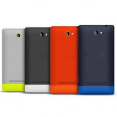 HTC 8Х задняя крышка (черн)