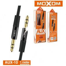 AUX кабель MOXOM AUX-10 (черн)