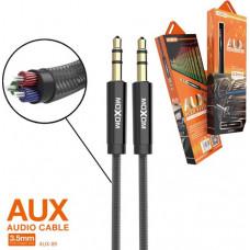 AUX кабель MOXOM AUX-09 (черн)