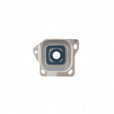 Samsung Galaxy A3 2015 (A300) стекло камеры (сер)