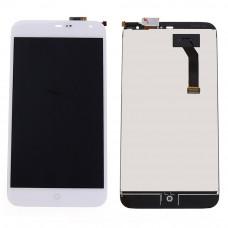 Meizu MX3 дисплейный модуль (бел)