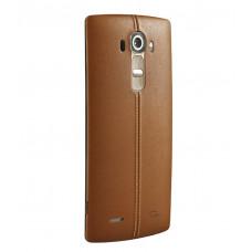 LG G4 задняя крышка (корич)