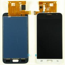 Samsung Galaxy J1 2016 (J120F) дисплей Oled (бел)
