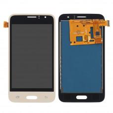 Samsung Galaxy J1 2016 (J120F) дисплей Oled (зол)