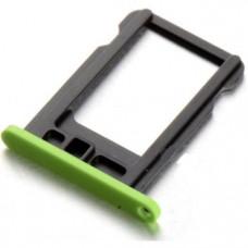 iPhone 5C SIM лоток (зел)