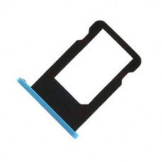 iPhone 5C SIM лоток (син)
