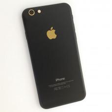 iPhone 6 задняя крышка (black gold)