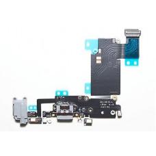iPhone 6S PLUS шлейф СЗУ (сер)