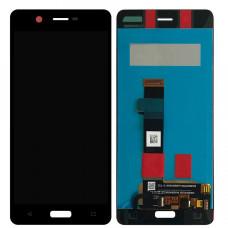 Nokia 5 (TA-1053) дисплейный модуль (черн)