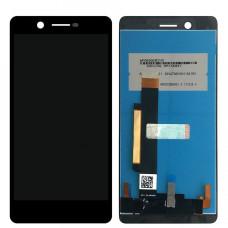 Nokia 7 (TA-1041) дисплейный модуль (черн)