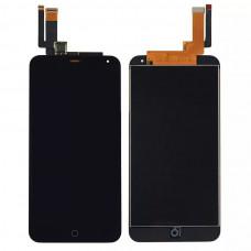 Meizu M1 Note дисплейный модуль (черн)