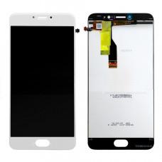 Meizu M3 Note (M681H) дисплейный модуль (бел)