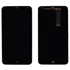 Meizu MX4 дисплейный модуль (черн)