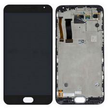 Meizu MX5 дисплейный модуль (черн)