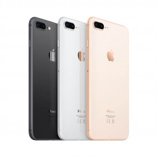 iPhone 8 PLUS задняя крышка (с рамкой)(white)