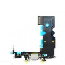 iPhone 8 шлейф СЗУ (бел)