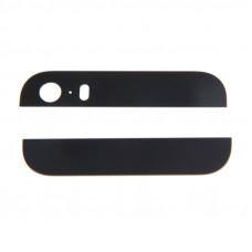 iPhone 5S стекла задн (камера и низ) (черн)
