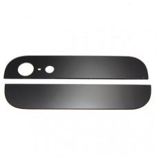 iPhone 5 стекла задн (камера и низ) (черн)