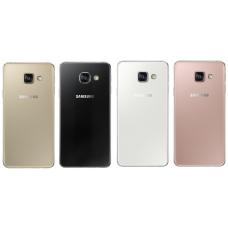 Samsung Galaxy A3 2016 (A310) задняя крышка (черн)
