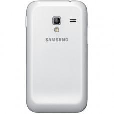 Samsung Galaxy Ace Plus (S7500) задняя крышка (бел)