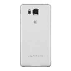 Samsung Galaxy Alpha (G850) задняя крышка (бел)