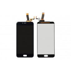 Meizu M5C дисплейный модуль (черн)