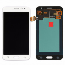 Samsung Galaxy J2 (J200F) дисплей TFT (бел)