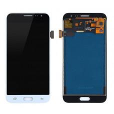 Samsung Galaxy J3 15/16 (J300/320) дисплей Oled (бел)