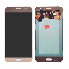 Samsung Galaxy J3 15/16 (J300/320) дисплей Oled (зол)