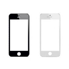 iPhone 5 / 5S / SE стекло переклейка (черн)