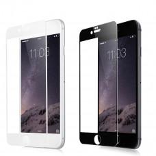 iPhone 6 / 6S защ стекло 3D (бел)