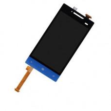 HTC 8S дисплей(син)