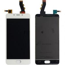 Meizu U10 дисплейный модуль (бел)