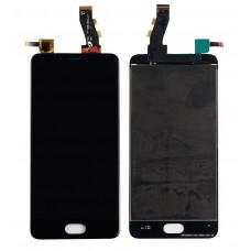 Meizu U10 дисплейный модуль (черн)