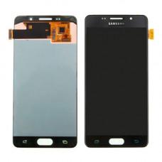Samsung Galaxy A5 2016 (A510F) дисплейный модуль TFT с регулировкой подсветки (черн)