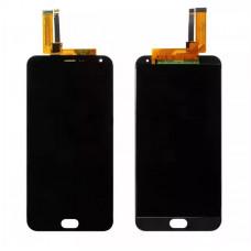 Meizu M2 Note дисплейный модуль (черн)