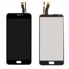 Meizu M5 Note дисплейный модуль (черн)