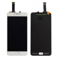 Meizu MX6 дисплейный модуль (бел)