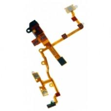 iPhone 3G шлейф на кнопку (ON/OFF) (бел)