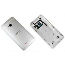 HTC One M7 задняя крышка (бел)